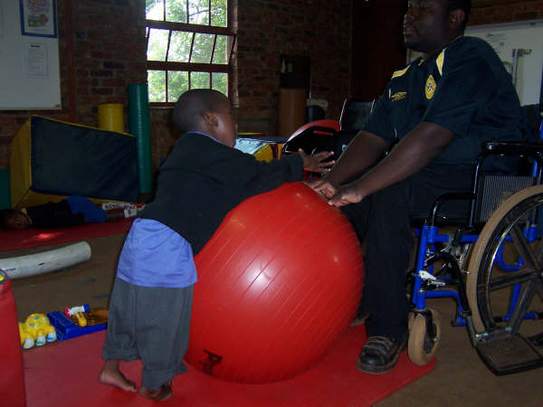 Physiotherapy at Tshiridzini Special School